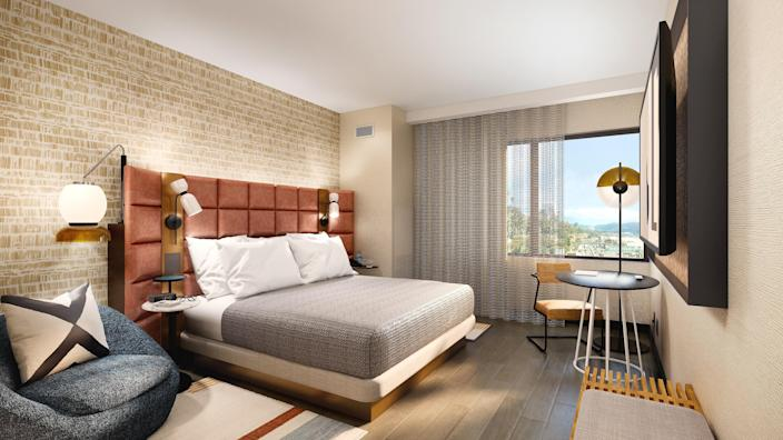 Renderings of Tempo by Hilton.