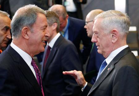 NATO defence ministers meeting at the Alliance headquarters in Brussels
