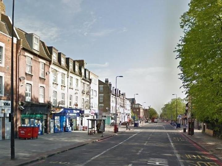 A woman in her 20s was hit by a car on Brixton Hill
