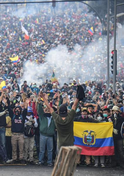 Indigenous groups have spearheaded demands that President Lenin Moreno restore fuel subsidies that were cut after his government agreed a $4.2 billion loan with the IMF