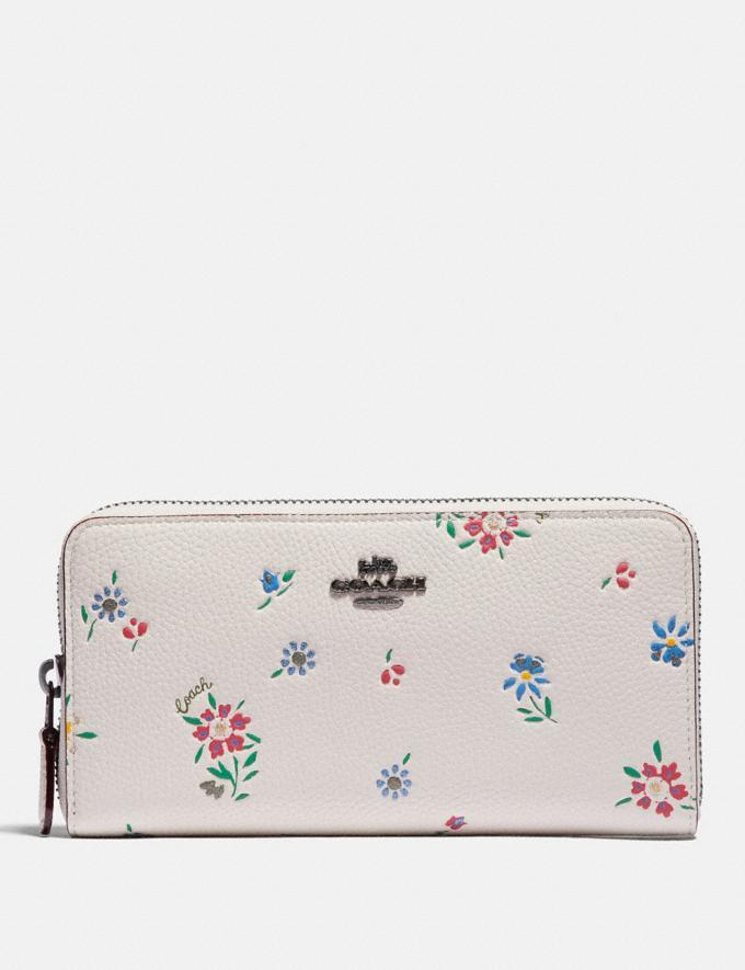 Accordion Zip Wallet With Wildflower Print is on sale at Coach, $106 (originally $250).