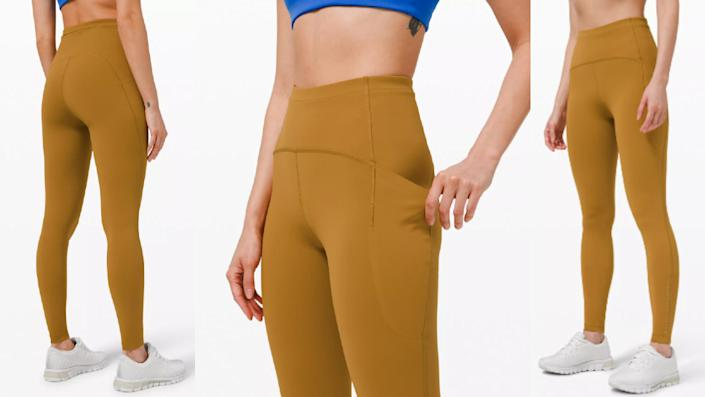 Lululemon's Swift Speed High-Rise Tight 28 are perfect for spring — and they're currently marked down as part of the brand's We Made Too Much section.
