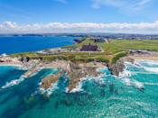 """<p>Garnering a prime position on a cliff overlooking Fistral Beach, this historic Victorian hotel has wow-factor written all over it. In fact, as beach hotels in the UK go, it has to be up there with one of the best.</p><p>It boasts a state-of-the-art spa (hello indoor and outdoor pools), ocean-view dining in AA rosette-awarded restaurants, a contemporary coastal-cool rooms and self-catering cottages.</p><p>There's a room to suit everyone, from couples to families, and even the dog who, we're sure, will love the wide expanse of golden sand below as much as you will.</p><p><a href=""""https://www.goodhousekeepingholidays.com/offers/cornwall-newquay-headland-hotel"""" rel=""""nofollow noopener"""" target=""""_blank"""" data-ylk=""""slk:Read our review of The Headland Hotel & Spa."""" class=""""link rapid-noclick-resp"""">Read our review of The Headland Hotel & Spa.</a></p><p><a class=""""link rapid-noclick-resp"""" href=""""https://go.redirectingat.com?id=127X1599956&url=https%3A%2F%2Fwww.booking.com%2Fhotel%2Fgb%2Fthe-headland.en-gb.html%3Faid%3D1922306%26label%3Dbeach-hotels-uk&sref=https%3A%2F%2Fwww.goodhousekeeping.com%2Fuk%2Flifestyle%2Ftravel%2Fg34584524%2Fbeach-hotels-uk%2F"""" rel=""""nofollow noopener"""" target=""""_blank"""" data-ylk=""""slk:CHECK AVAILABILITY"""">CHECK AVAILABILITY</a></p>"""