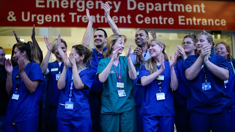 Thousands more join nursing courses following appeal by health chief