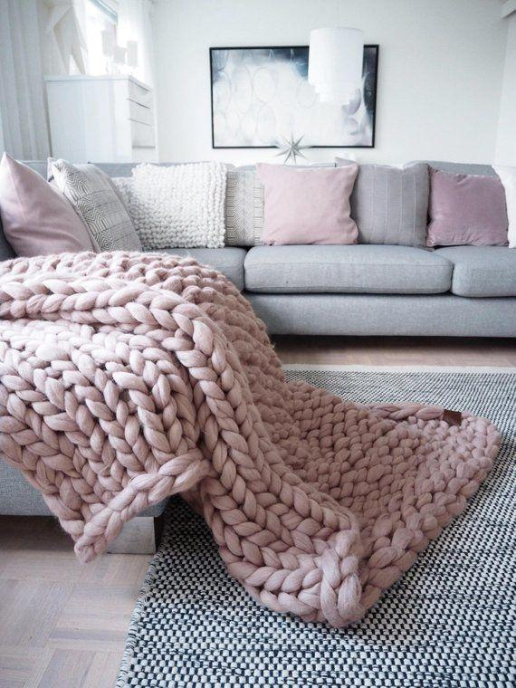 """<a href=""""https://www.etsy.com/listing/513806192/chunky-knit-blanket-handmade-from"""" target=""""_blank"""" rel=""""noopener noreferrer"""">Shop it here</a>.&nbsp;"""