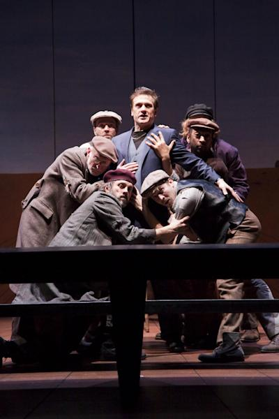 """This Feb. 18, 2011 photo provided by the Spoleto Festival USA in Charleston, S.C., shows cast members of the Nottingham Theater performing """"Oedipus."""" On Sunday, Dec. 9, 2012, the festival announced its lineup for the upcoming 2013 season. (AP Photo/Spoleto Festival USA, Helen Warner)"""