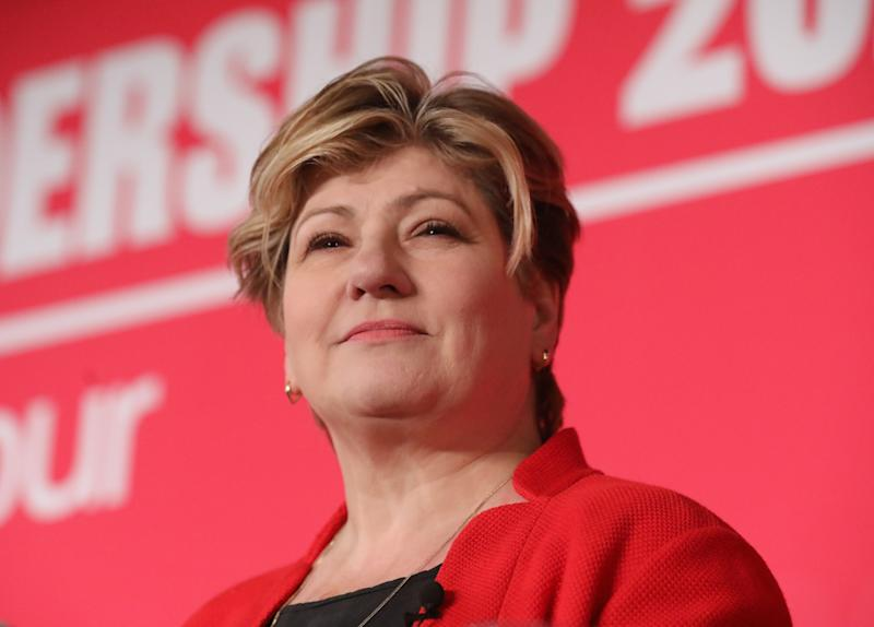 Emily Thornberry during the Labour leadership hustings at the ACC Liverpool. Picture date: Saturday January 18, 2020. Photo credit should read: Isabel Infantes / EMPICS Entertainment.