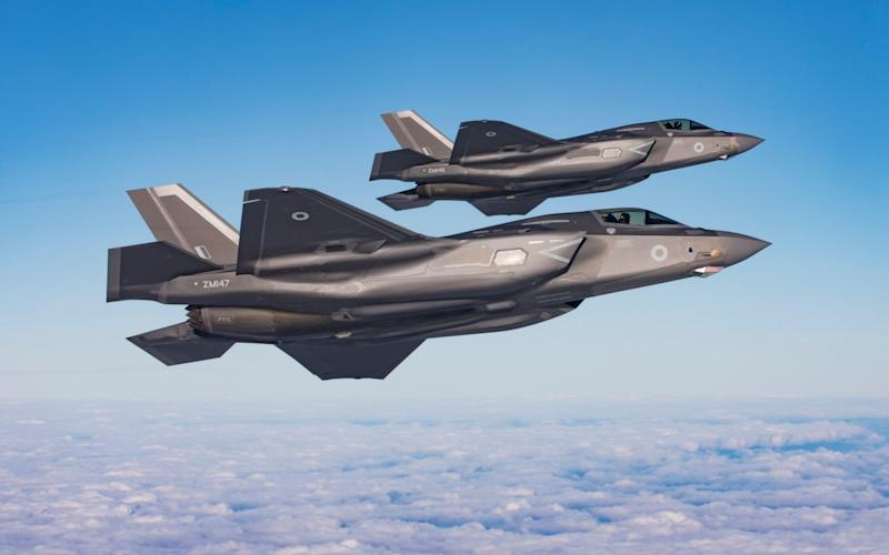 A Chinese-owned company is making circuit boards for F-35 warplanes flown by Britain and the US, the Ministry of Defence has revealed. - RAF