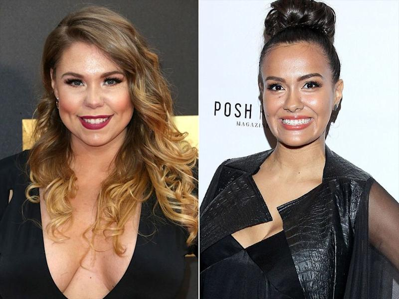 Kailyn Lowry (left) and Briana DeJesus