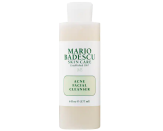 """<p><strong>Mario Badescu</strong></p><p><strong>$15.00</strong></p><p><a href=""""https://go.redirectingat.com?id=74968X1596630&url=https%3A%2F%2Fwww.sephora.com%2Fproduct%2Fmario-badescu-acne-facial-cleanser-P440490&sref=https%3A%2F%2Fwww.marieclaire.com%2Fbeauty%2Fg36066009%2Fbest-face-washes-for-acne%2F"""" rel=""""nofollow noopener"""" target=""""_blank"""" data-ylk=""""slk:SHOP IT"""" class=""""link rapid-noclick-resp"""">SHOP IT </a></p><p>Salicylic acid, thyme extract, and aloe vera are infused into this cleanser to erase blemishes and smooth skin. For optimal acne-clearing results, follow up with a few dabs of Mario Badescu <a href=""""https://www.marieclaire.com/beauty/g35888853/acne-spot-treatment/"""" rel=""""nofollow noopener"""" target=""""_blank"""" data-ylk=""""slk:drying lotion"""" class=""""link rapid-noclick-resp"""">drying lotion</a> on stubborn pimples. </p>"""