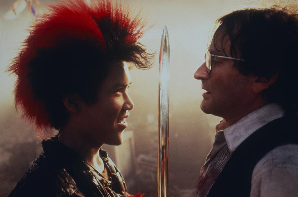 Dante Basco had his breakout role as Rufio opposite Robin Williams's Peter Pan in Steven Spielberg's 1991 family favorite, Hook (Photo: TriStar Pictures / courtesy Everett Collection)