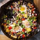 <p>This sweet and spicy black bean and corn recipe features queso fresco, a Mexican cheese that is salty, crumbly, and perfectly meltable.</p>