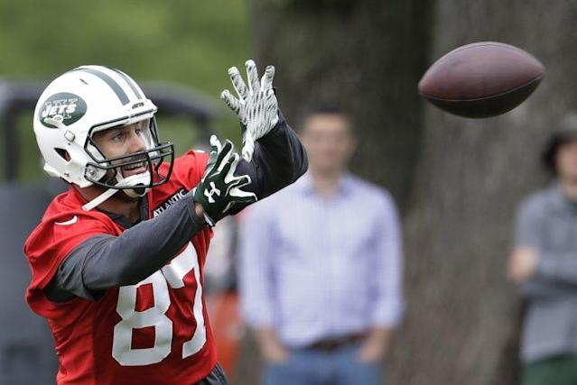 Eric Decker will be traded or released this week, according to a report. (AP)