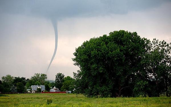 A tornado photographed on Feb. 10, 2010. In the last 3.5 months the U.S. has been in a tornado drought.