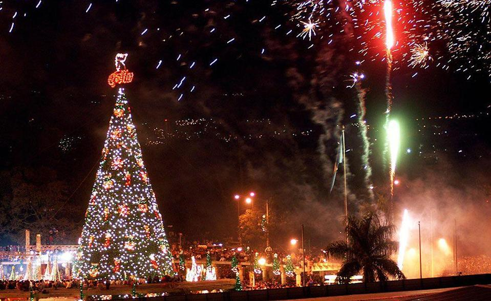 <p>Posadas, or celebrations, starting on December 16 involve a procession of people using lanterns to guide them as a symbol of Mary and Joseph's journey to find shelter. They happen on the nine nights leading up to Christmas to represent the nine months Jesus was in the womb. </p>