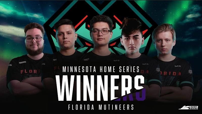 Florida Mutineers siegen bei Home Series