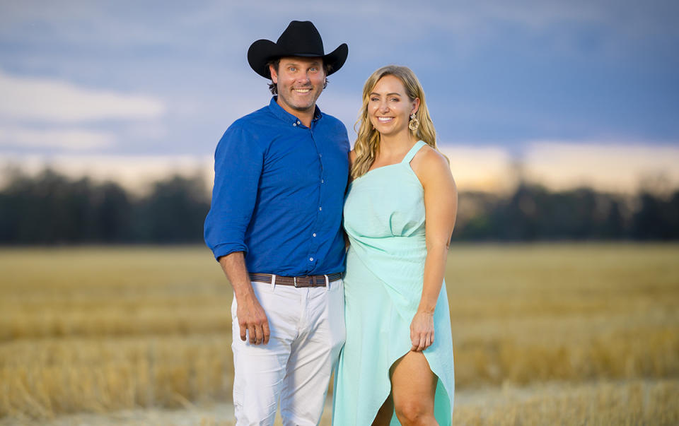 Will and Jaimee Farmer Wants A Wife S11 2021 Final Decision. Photo: Channel 7 (supplied).