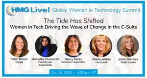 Join the top female technology executives from across the world as they discuss their roles in changing the C-suite along with effective ways to elevate more women into leadership roles.