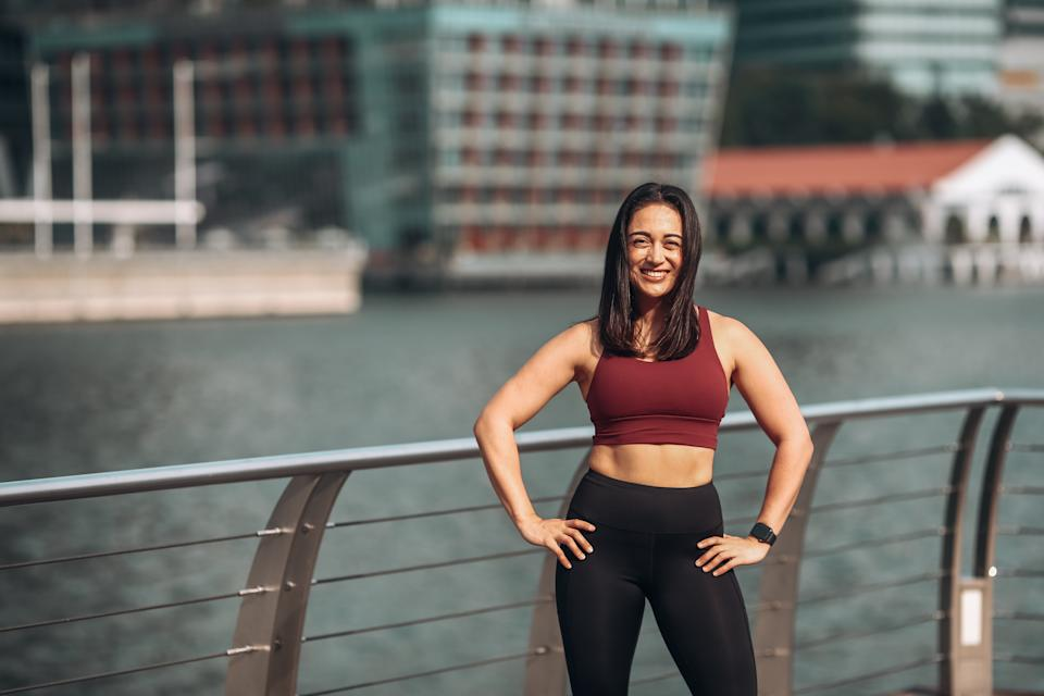 Joanne Boulat is a personal trainer and gym instructor.