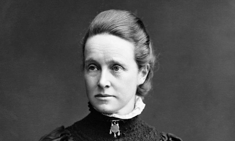 Millicent Fawcett (1847-1929) the English suffragette and educationalist.