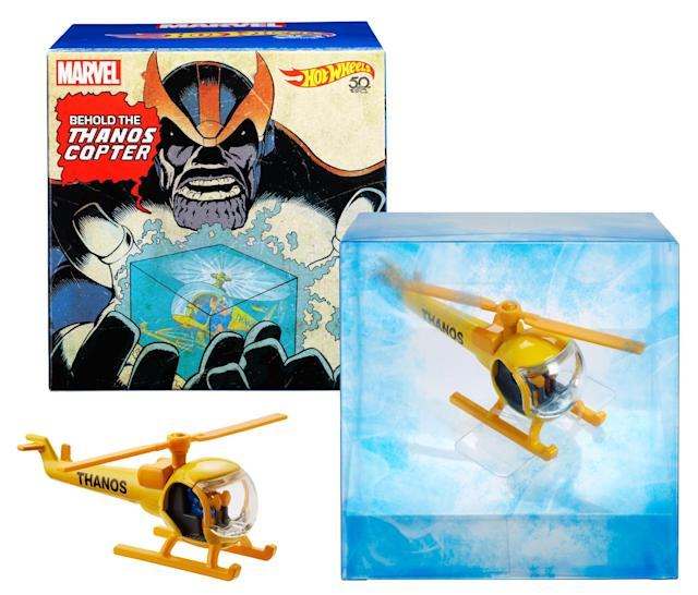 The Comic-Con exclusive comes in deluxe packaging. (Photo: Mattel)