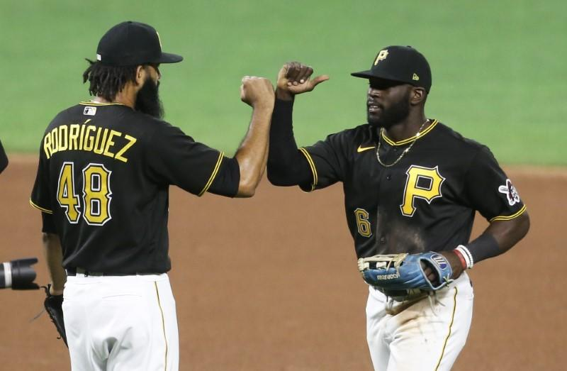 Pirates OF Alford recovering from elbow surgery