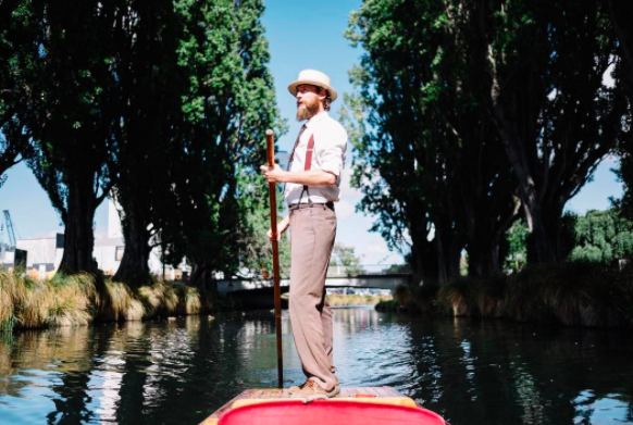 Settle back for a relaxing punt along the Avon River. Photo: Instagram