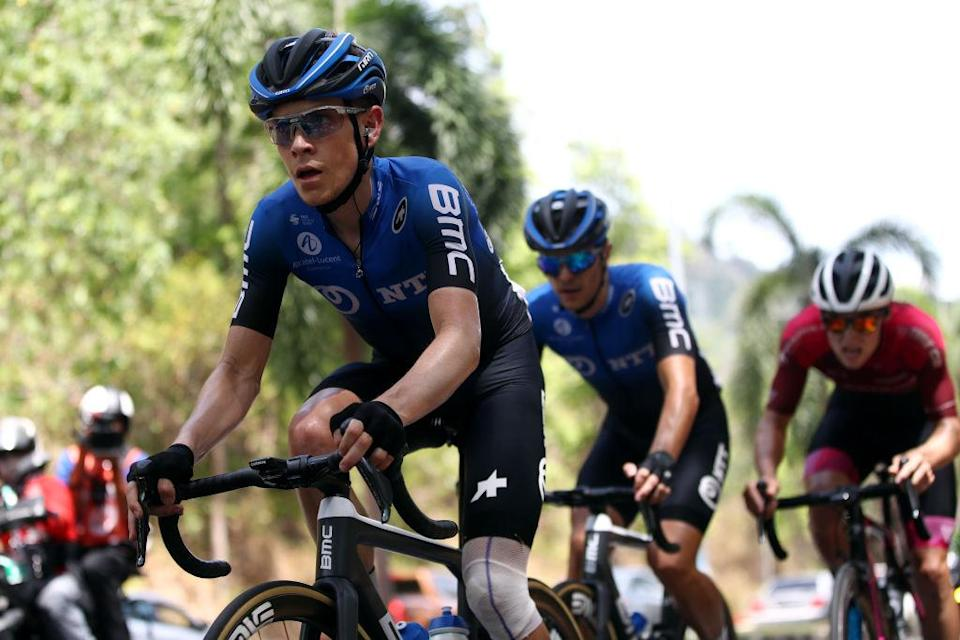 LANGKAWI, MALAYSIA - FEBRUARY 15: Louis Meintjes of South Africa and Team NTT Pro Cycling / during the 25th Le Tour de Langkawi 2020, Malaysian International Classic Race a 159km stage from Kuah to Kuah - Langkawi / #PETRONASLTdL2020 / on February 15, 2020 in Langkawi, Malaysia. (Photo by Phil Walter/Getty Images)