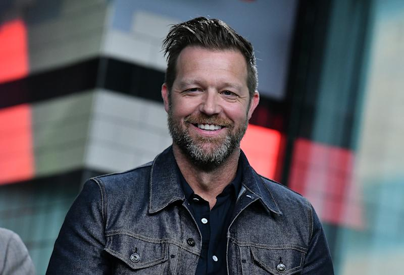 "NEW YORK, NY - MAY 14: (EXCLUSIVE COVERAGE) Director David Leitch visits Build Series to discuss ""Deadpool 2"" at Build Studio on May 14, 2018 in New York City. (Photo by Slaven Vlasic/Getty Images)"