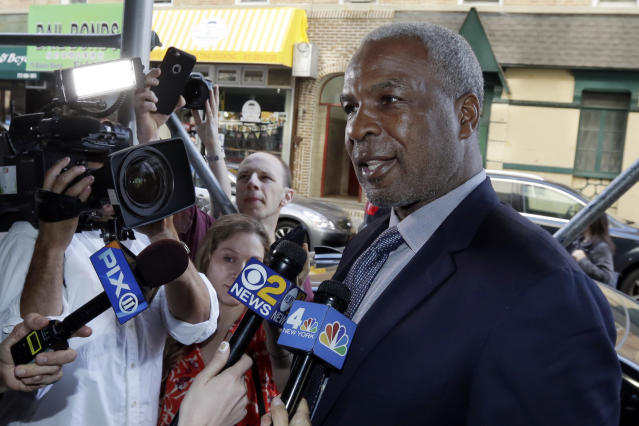 Former NBA All-Star Charles Oakley was cleared of assault charges in February. (AP)
