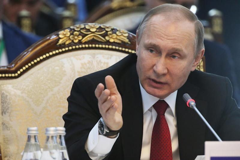 Russian president Vladimir Putin: Getty Images