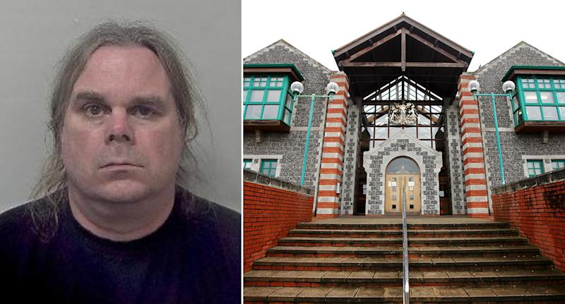 Timothy Davies was sentenced to six years in prison at Canterbury Crown Court for raping his victim in December 2018.