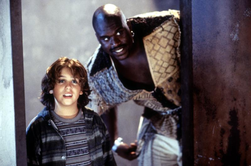 Francis Capra and Shaquille O'Neal in the 1996 kids comedy 'Kazaam' (Photo: Buena Vista Pictures/courtesy Everett Collection)