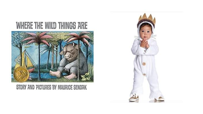 A cozy onesie turns your toddler into the King of the Wild Things.