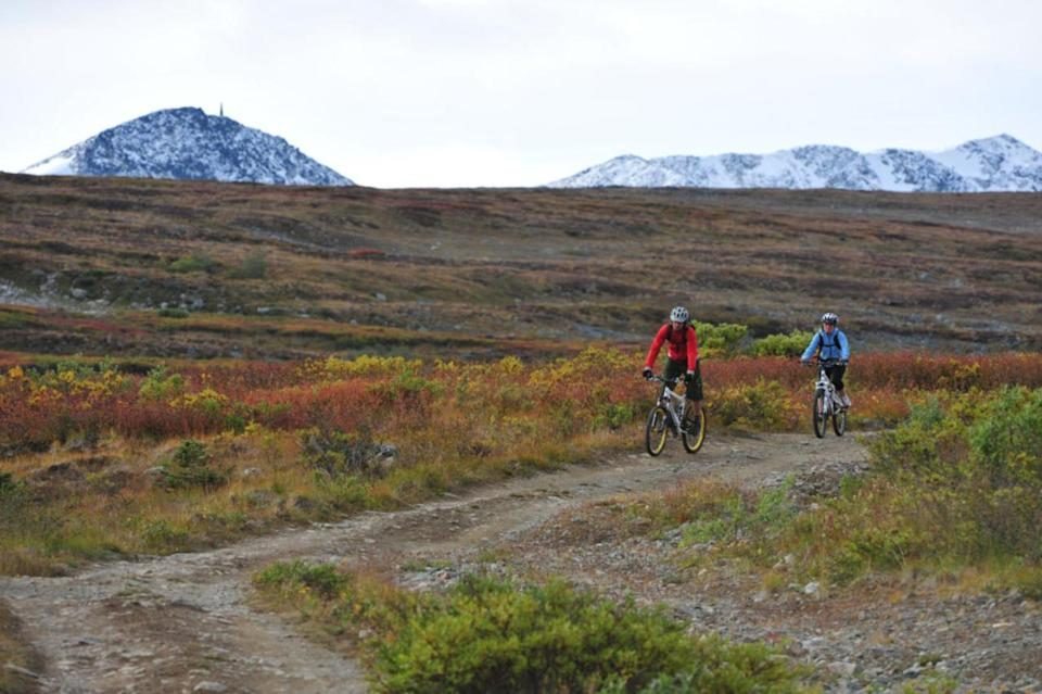 First Nations community turns town into world-class mountain bike destination