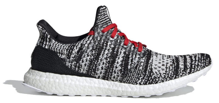 """<p><a class=""""body-btn-link"""" href=""""https://www.adidas.co.uk/adidas-x-missoni-ultraboost-shoes/D97743.html"""" target=""""_blank"""">SHOP</a></p><p>Missoni is famous for its colourful knitwear, so it's understandable that adidas would ask them to have a tinker with the new Primeknit Ultraboost. The special edition shoe is available in the <a href=""""https://www.adidas.co.uk/adidas-x-missoni-ultraboost-shoes/D97771.html"""" target=""""_blank"""">vibrant mix of reds, pinks and blues</a> you'd expect from the Italian fashion house, but we like the pop of red on this monochrome pair.</p><p><em><a href=""""https://www.adidas.co.uk/adidas-x-missoni-ultraboost-shoes/D97743.html"""" target=""""_blank"""">adidas, £219.95</a></em></p>"""