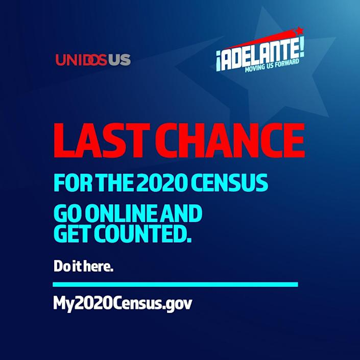 Last Chance for the 2020 Census