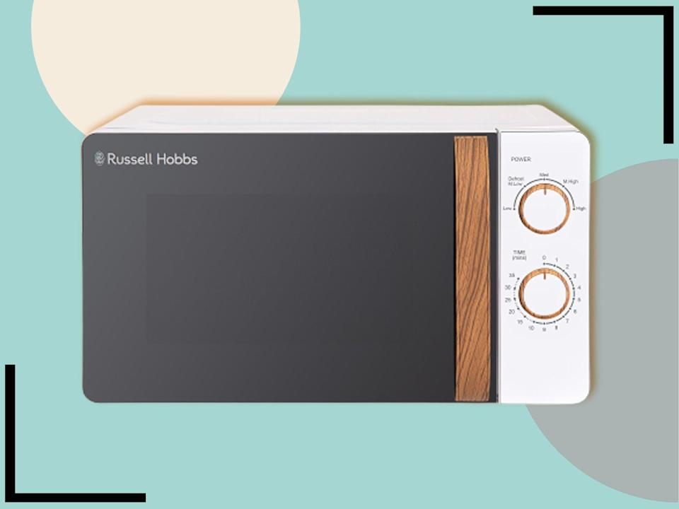 It's a good looking microwave – but does it deliver on the performance front?  (The Independent)