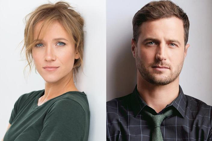 """<p><strong>Premieres: </strong>Nov. 27 at 10 p.m. ET/PT, Hallmark Movies & Mysteries</p> <p><strong>Stars: </strong>Jessy Schram, Brendan Penny</p> <p><strong>Contains: </strong>Christmas festival, teaming up of amnesiac and nurse</p> <p><strong>Official description: </strong>""""During the holidays, a woman with amnesia catches a ride with her handsome nurse to investigate the only clue to her identity: a newspaper clipping for a Christmas Festival with a cryptic invitation.""""</p>"""