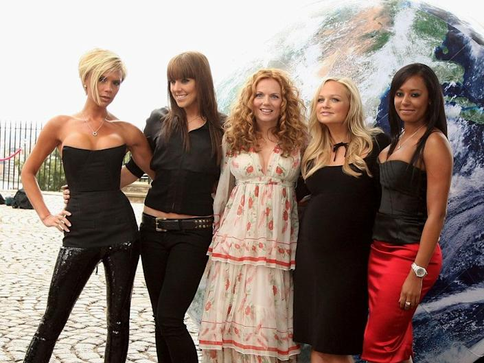 The Spice Girls pictured in 2007 (Getty)