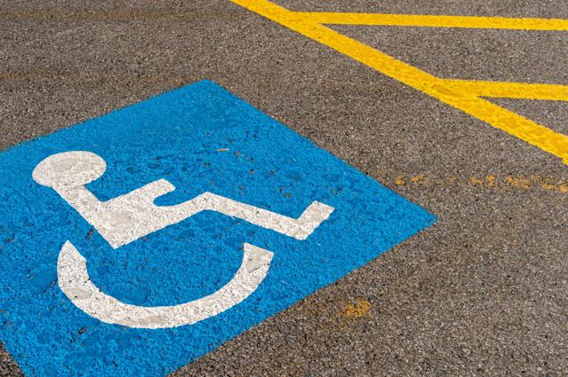 An anonymous bystander accused a mom of abusing her disability permit. (Photo: Marc Bruxelle/Getty Images)
