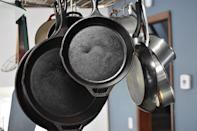 """The cast iron kadhai in your grandmother's kitchen may be your best bet when it comes to cooking food. Though not a cure for anaemia, cooking in iron utensils can help up the iron quotient in your food. In an <a href=""""https://www.longdom.org/open-access/a-randomized-control-trial-using-a-fishshaped-iron-ingot-for-the-amelioration-of-iron-deficiency-anemia-in-rural-cambodian-women-2329-9088-1000195.pdf"""" rel=""""nofollow noopener"""" target=""""_blank"""" data-ylk=""""slk:experiment"""" class=""""link rapid-noclick-resp"""">experiment </a>conducted in rural Cambodia, women who put an iron fish-shaped ingot into their pans while simmering soup, reported lower levels of anaemia. Further, cast iron pots have a longer shelf life, and you can use it without worrying about the pot getting scratched or flaking off. The amount of iron that is transferred to your body, however, depends on the cooking time and your body's ability to absorb iron. Over time, cast iron pots also can get covered with a layer of oil, this lowers the amount of iron that is passed on to food. Image credit: Image by <a href=""""https://pixabay.com/users/Ernest_Roy-1284978/?utm_source=link-attribution&utm_medium=referral&utm_campaign=image&utm_content=4229579"""" rel=""""nofollow noopener"""" target=""""_blank"""" data-ylk=""""slk:Ernest_Roy"""" class=""""link rapid-noclick-resp"""">Ernest_Roy</a> from <a href=""""https://pixabay.com/?utm_source=link-attribution&utm_medium=referral&utm_campaign=image&utm_content=4229579"""" rel=""""nofollow noopener"""" target=""""_blank"""" data-ylk=""""slk:Pixabay"""" class=""""link rapid-noclick-resp"""">Pixabay</a>"""