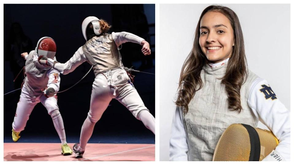 On 25 Apr 2021, the 20 year-old made history as the first Singaporean fencer to qualify for the Olympic Games.