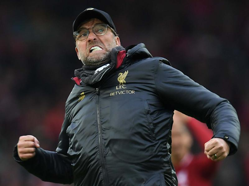 Jurgen Klopp insists Liverpool will celebrate their imminent Premier League title win when they can do so: AFP via Getty