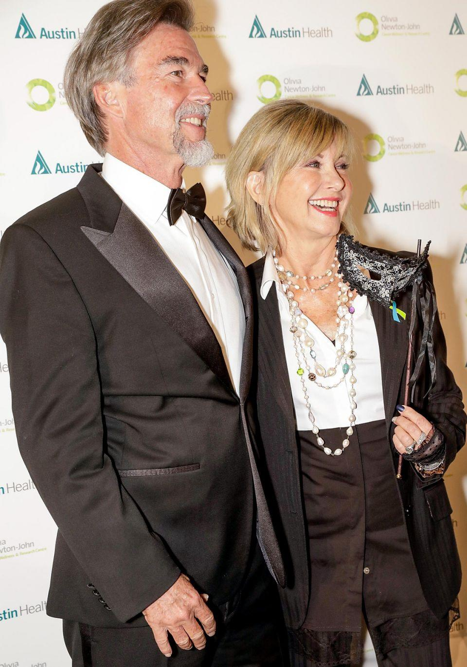 The 68-year-old beamed as she was joined by her husband at the 2017 ONJ Gala over the weekend. Source: Getty