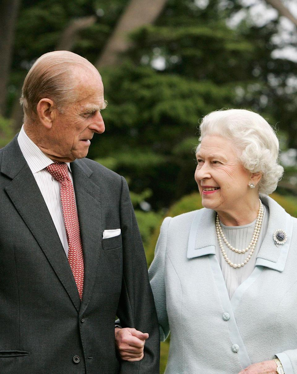 <p>The Queen and Prince Philip re-visit Broadlands to mark their Diamond Wedding Anniversary. The young Princess Elizabeth and Philip Mountbatten spent their wedding night at Broadlands in Hampshire in November 1947, the former home of Prince Philip's uncle, Earl Mountbatten.</p>