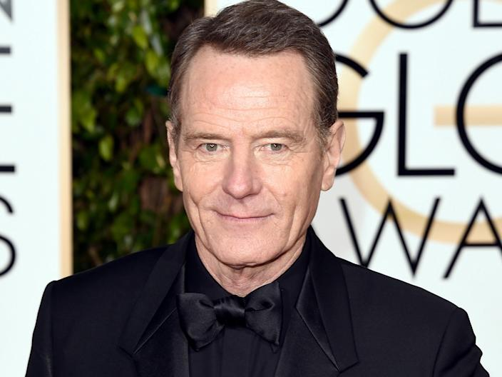 "Bryan Cranston was diagnosed with the novel coronavirus. <p class=""copyright"">Getty</p>"