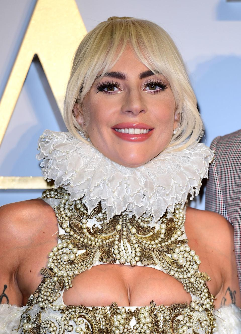 Lady Gaga has been nominated for two Golden Globes for her part in A Star is Born (Ian West/PA)