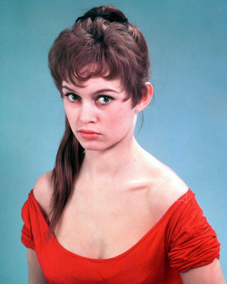 <p>At long last: The super simple style we all know and love, pushed into popularity by none other than French sex symbol Brigitte Bardot.</p>