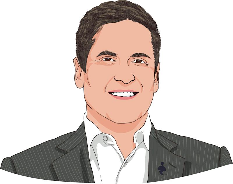 "Mark Cuban, billionaire, owner of the NBA's Dallas Mavericks, and Shark on ""Shark Tank""."